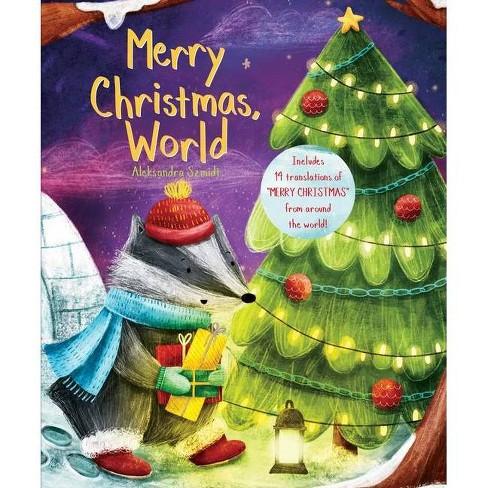 Merry Christmas, World - (Global Greetings) (Board_book) - image 1 of 1