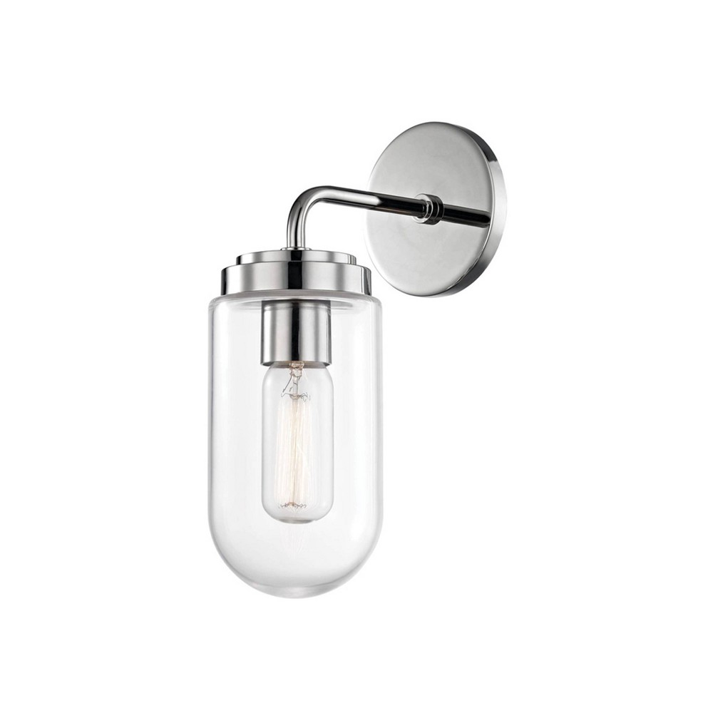 Clara 1-Light Wall Sconce Brushed Nickel - Mitzi by Hudson Valley Discounts