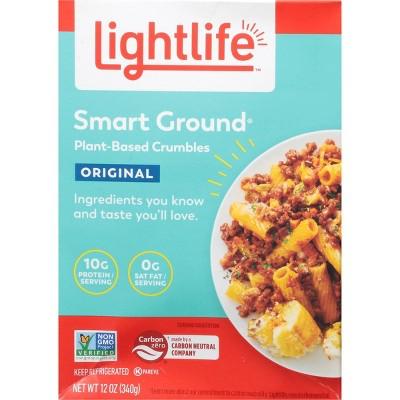 Lightlife Original Smart Ground Plant-Based Crumbles - 12oz