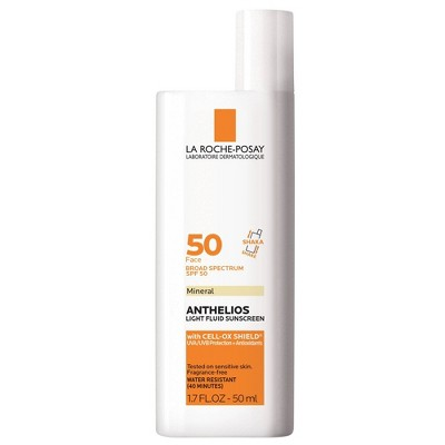 La Roche-Posay Anthelios Mineral Face Sunscreen - SPF 50 - 1.7 fl oz