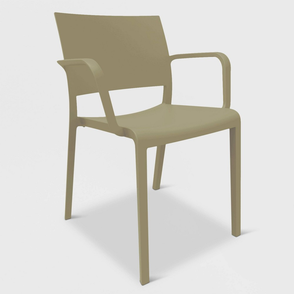Image of New Fiona 2pk Patio Armchair - Sand - RESOL