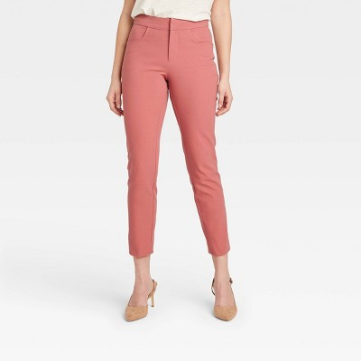 Women's High-Rise Skinny Ankle Pants - A New Day™