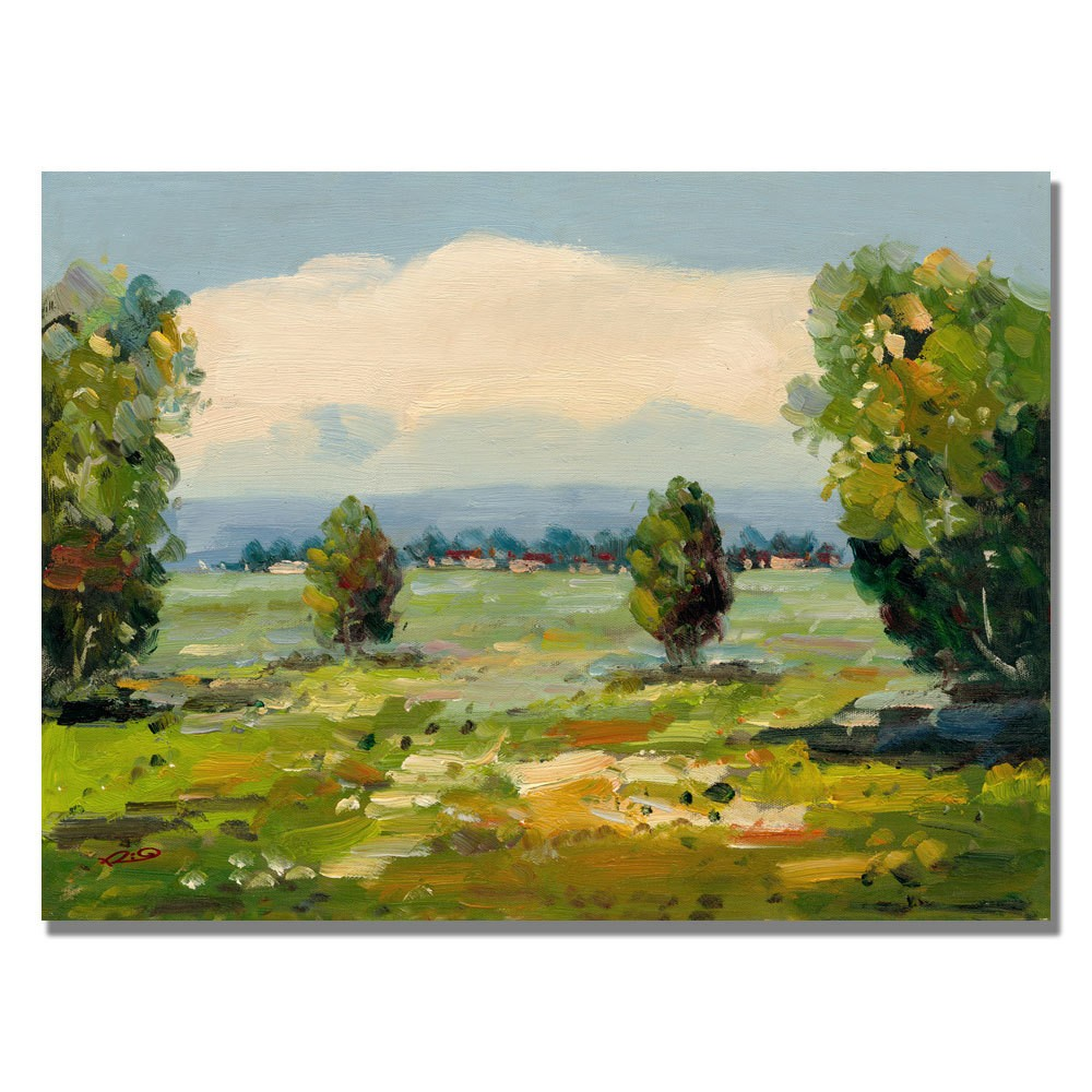 Trademark Fine Art 35 x 47 Rio 'A New Day III' Canvas Art was $139.99 now $111.99 (20.0% off)