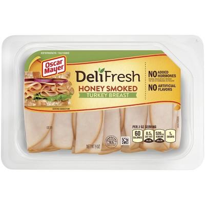 Oscar Mayer Deli Fresh Shaved Honey Smoked Turkey Breast -9oz