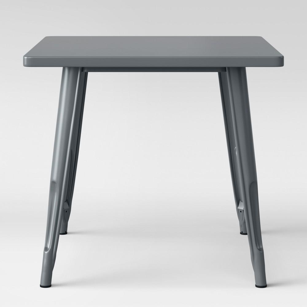 Industrial Activity Table - Zig Zag Gray - Pillowfort