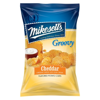 Mike Sell's Cheddar & Sour Cream Potato Chips - 10oz