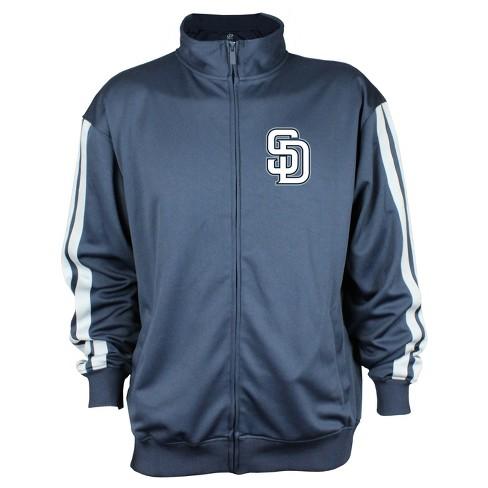 San Diego Padres Men's Zip-Up Track Jacket - XL - image 1 of 2