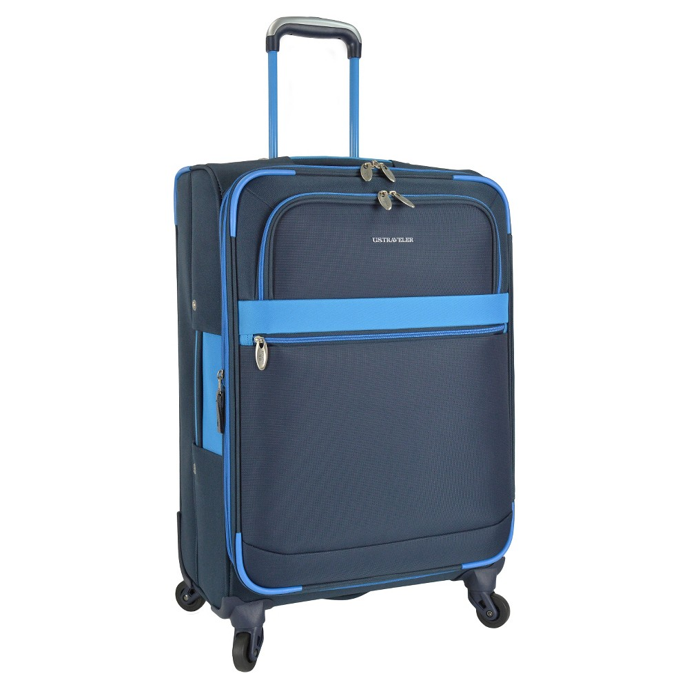 U.S. Traveler Suitcase - Navy (Blue)