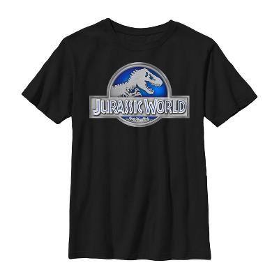 Boy's Jurassic World T. Rex Logo T-Shirt