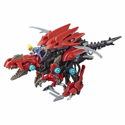 Zoids Mega Battlers Ruin - Deinonychus Raptor -Type Buildable Beast Figure, Motorized Motion - Kids Toys Ages 8 and Up,
