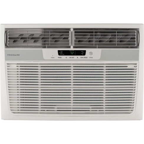 Frigidaire 8,000 BTU Remote Temperature Control Window Air Conditioner and Heating Unit, White (Certified Refurbished) - image 1 of 3