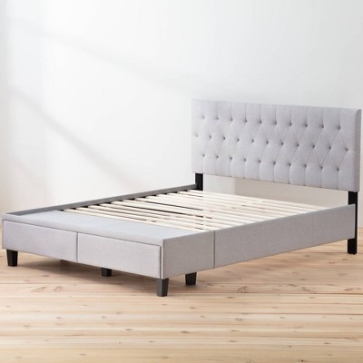 Anna Upholstered Bed with Drawers - Brookside Home