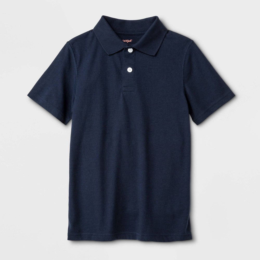 Image of Boys' Polo Shirt - Cat & Jack S, Boy's, Size: Small, Blue