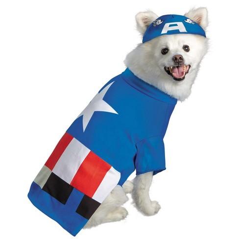 Marvel Marvel Captain America Pet Costume - image 1 of 1