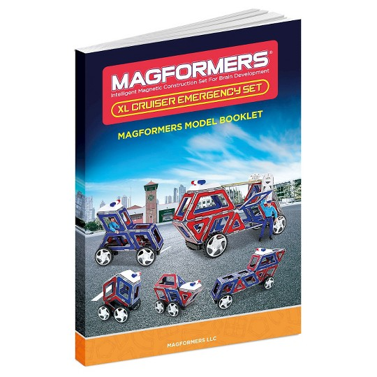 Magformers XL Cruisers Emergency Set image number null