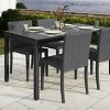 Brisbane Outdoor Patio Dining Table - CorLiving - image 2 of 4