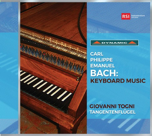 Giovanni Togni - Bach:Keyboard Music (CD) - image 1 of 1