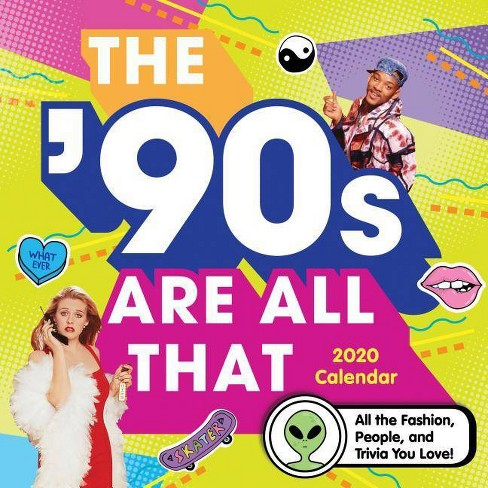 2020 the '90s Are All That Wall Calendar - image 1 of 1