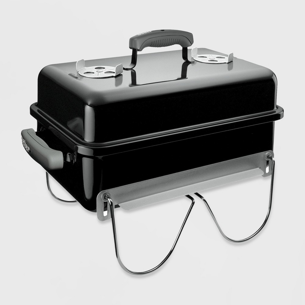 Weber Go-Anywhere Charcoal Grill, Black 680402