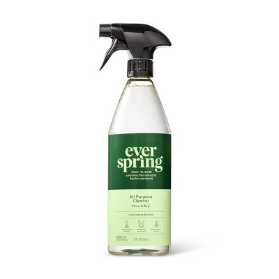 Citrus & Basil All Purpose Cleaner - 28 fl oz - Everspring™