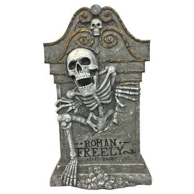 27'' Halloween Roman Freely Tombstone - Hyde and Eek! Boutique™