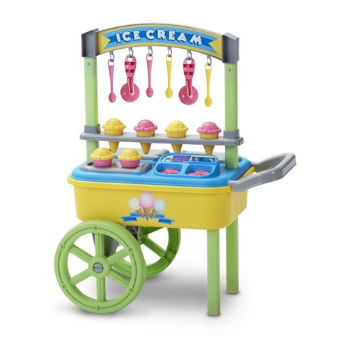 American Plastic Toys Kids My Very Own First Ice Cream Cart Stand Role Play Set - image 1 of 4