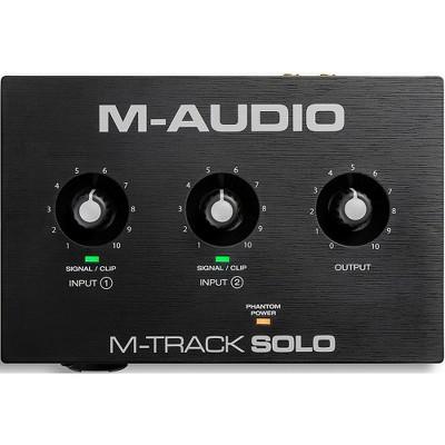 M-Audio M-Track Solo 2-Channel USB Audio Interface