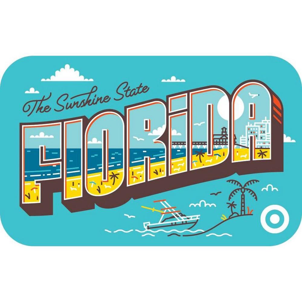 Florida Postcard Target Giftcard Florida Postcard Target Giftcard
