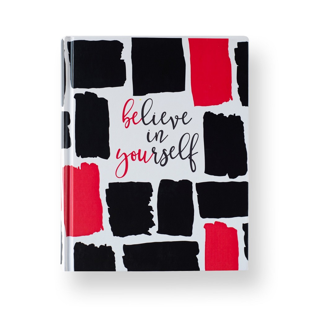 Fitspiration Journal Believe in Yourself - Fitlosophy, Gray Believe in yourself and be you with this Fitspiration Journal from Fitlosophy. Designed to empower your mind, body and soul, this inspirational journal keeps health and wellness at the forefront of your mind with daily inspiration and tips to live life fit. As a combination between a fitness journal and a gratitude journal, it helps you reflect and encourages you to set goals, get inspired and think positively. Color: Gray. Pattern: Solid.
