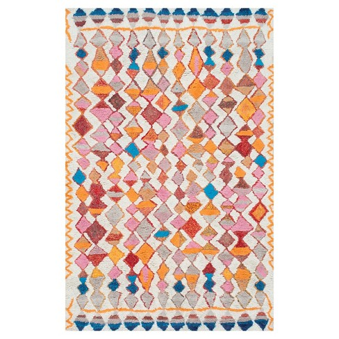 Hand Tufted Moroccan Multi Colored Rug Nuloom Target
