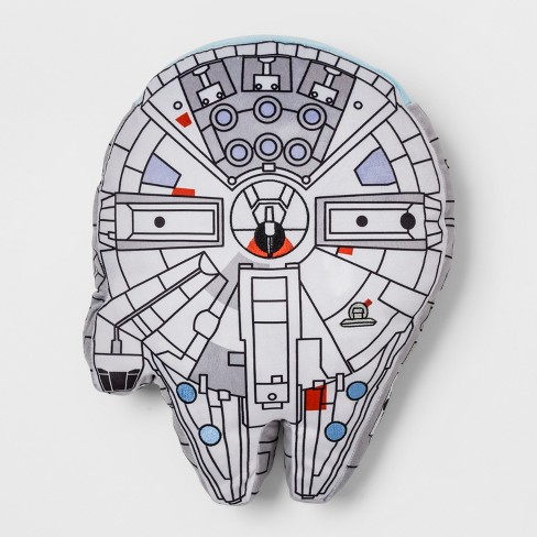 Star Wars Classic Millenium Falcon Pillow - image 1 of 2