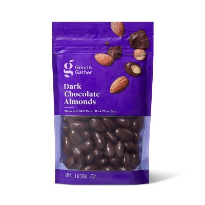 Dark Chocolate Almonds - 13oz - Good & Gather™