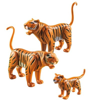 PLAYMOBIL Tiger Family, Set of 3
