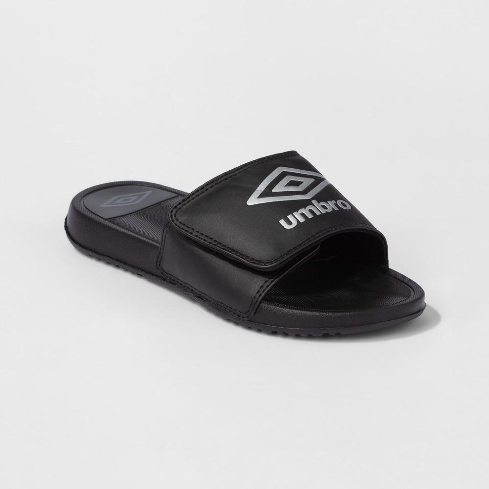 Umbro Boys Athletic Slides - L, Black