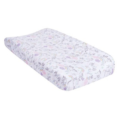 Trend Lab Changing Pad Cover - Playful Unicorns