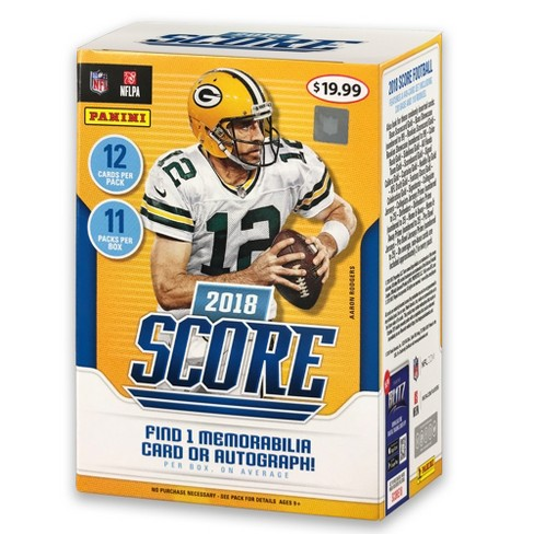 2018 NFL Score Football Trading Card Full Box - image 1 of 3
