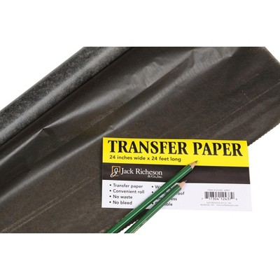 Jack Richeson Transfer Paper Roll, 24 Inches x 24 Feet