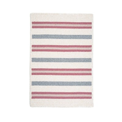 Uptown Stripe Braided Area Rug - Colonial Mills