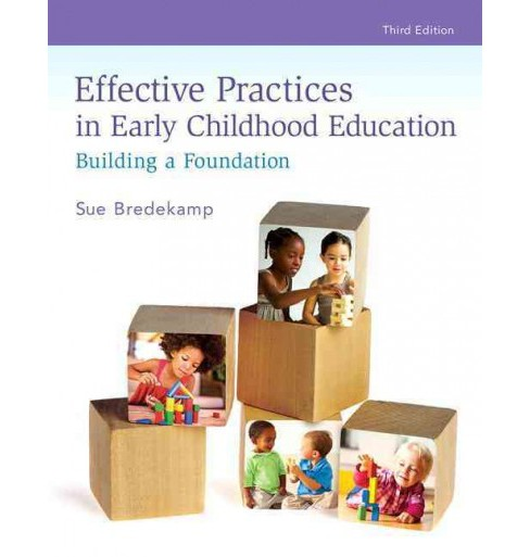 Effective Practices in Early Childhood Education : Building a Foundation (Paperback) (Sue Bredekamp) - image 1 of 1