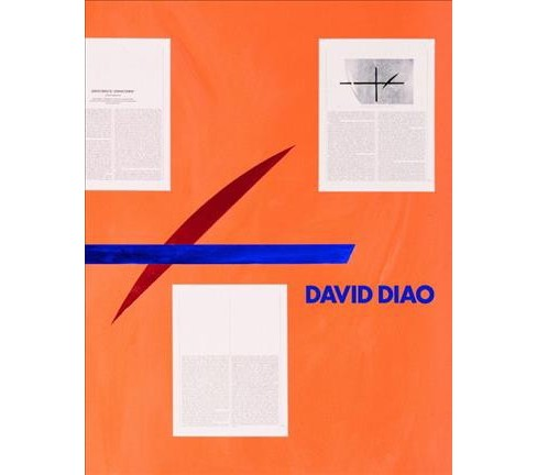 David Diao -  by Philip Tinari (Hardcover) - image 1 of 1