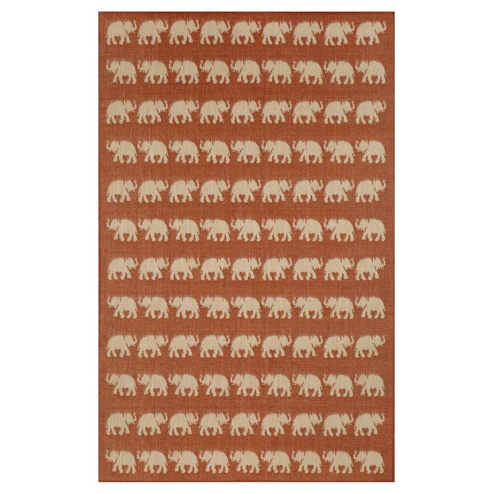 Terrace Indoor/Outdoor Elephants Terra Rug 39
