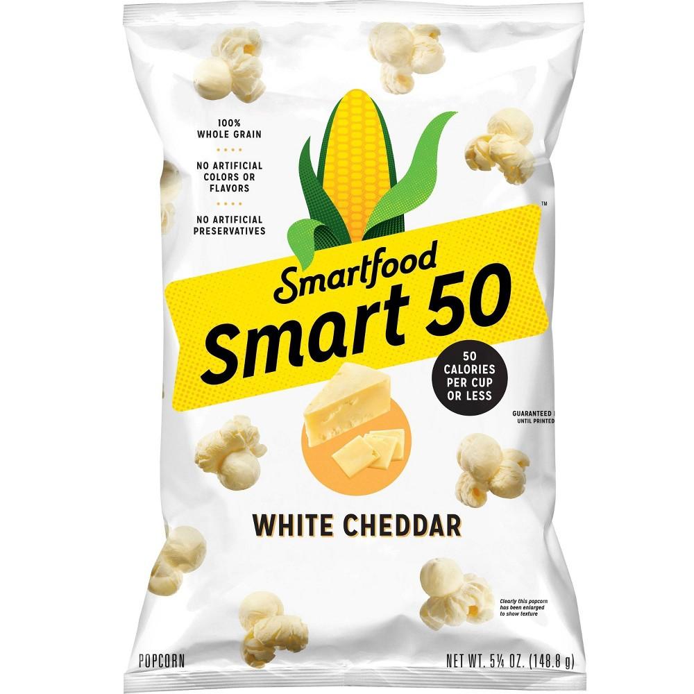 Smart50 White Cheddar Popcorn 5 25oz