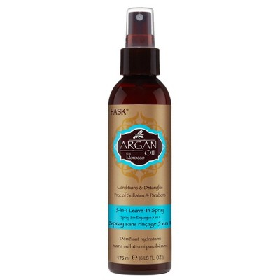 Hask Argan Oil Conditions & Detangles Leave-In Spray - 6 fl oz