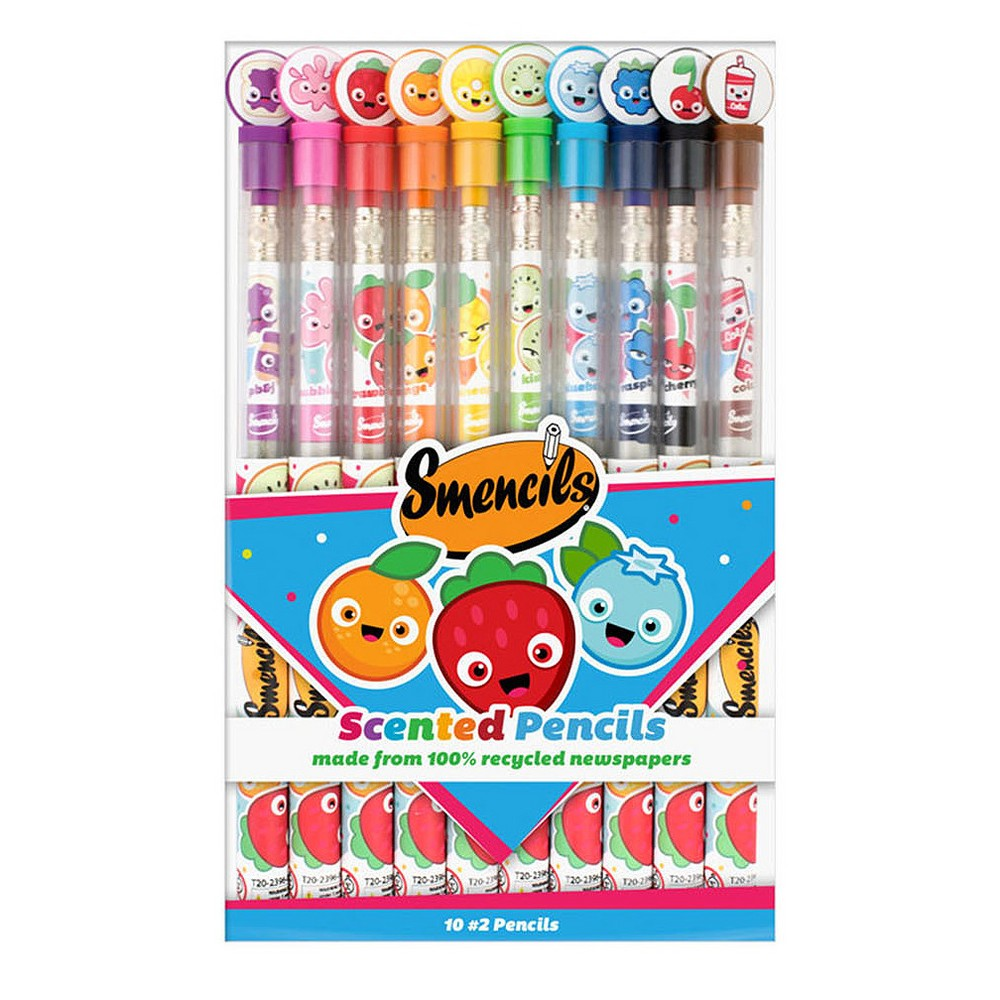 Image of Scentco Smencils #2 Scented Pencils 10ct
