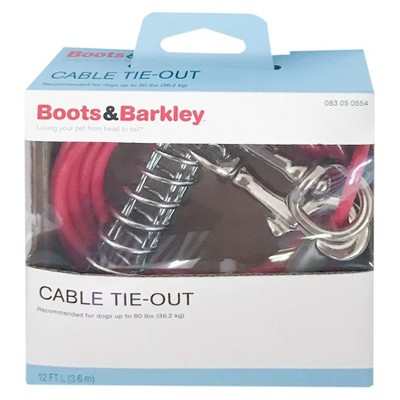 Weight Tie-Out Cable 12 ft M - Boots & Barkley™