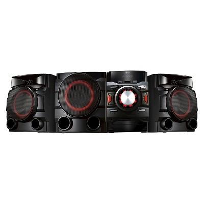 LG CM4550 700w Shelf Audio System - Black