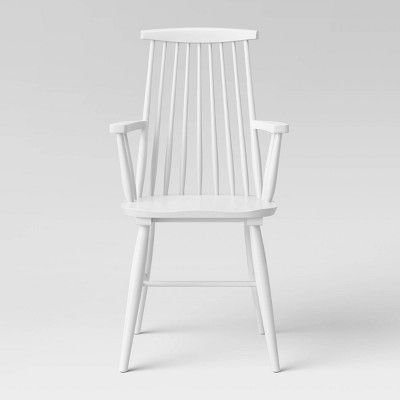 Harwich Wood Arm Dining Chair - Threshold™