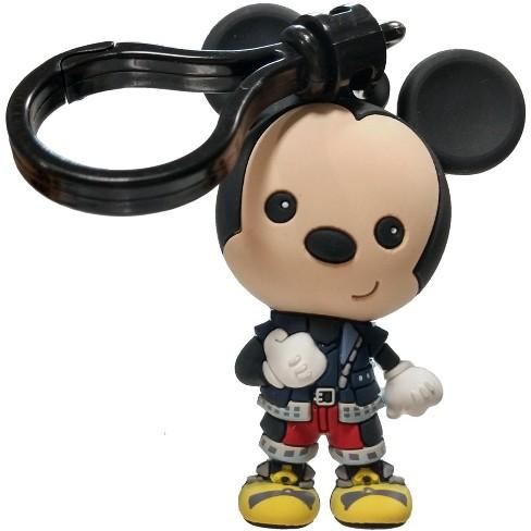 Disney 3D Figural Bag Clip Kingdom Hearts Series 4 Mickey Keychain [Loose] - image 1 of 1