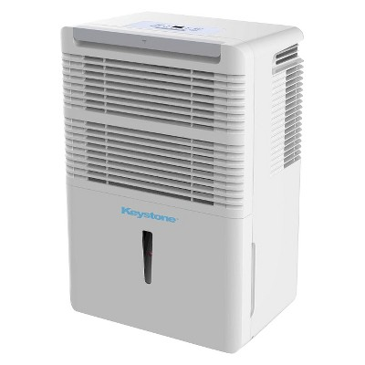 Keystone - 50 Pint Electric Dehumidifier - White