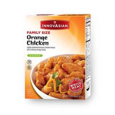 InnovAsian Cuisine Family Size Frozen Orange Chicken - 36oz